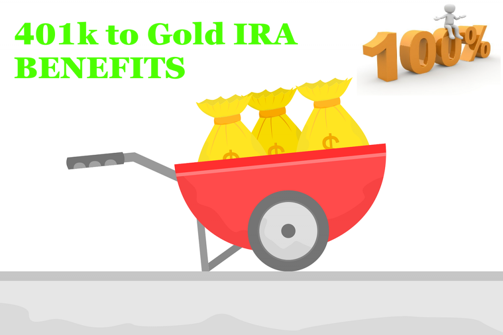 Benefits of moving 401k to Gold IRA