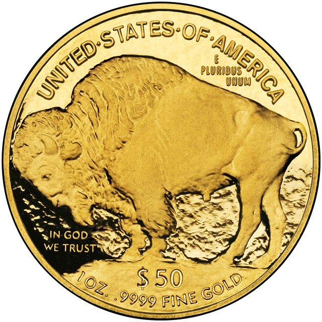 minted gold coin