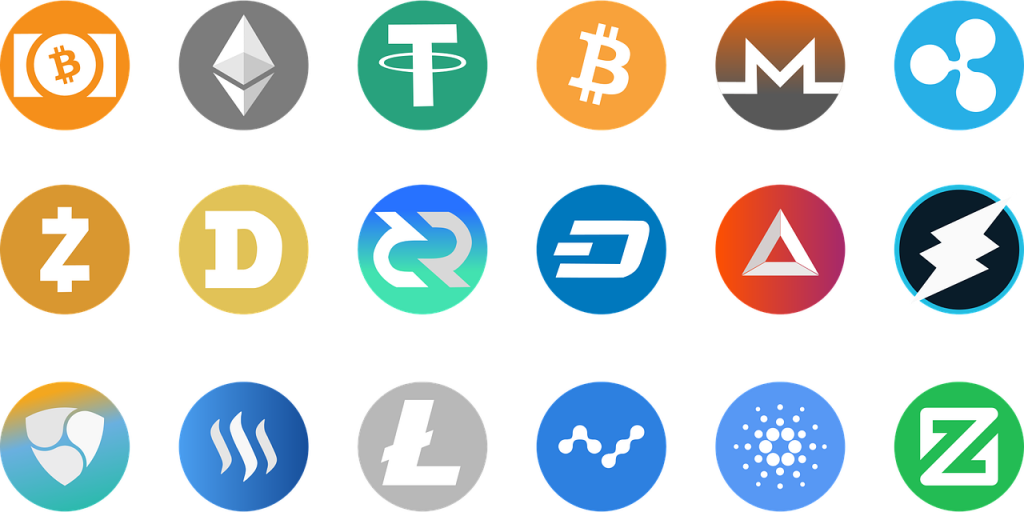 Alternative Cryptocurrency coins